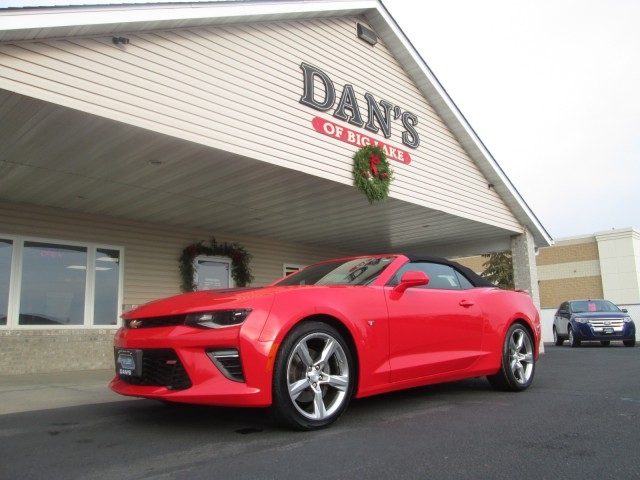 Used 2017 Chevrolet Camaro 1ss.  Conversion