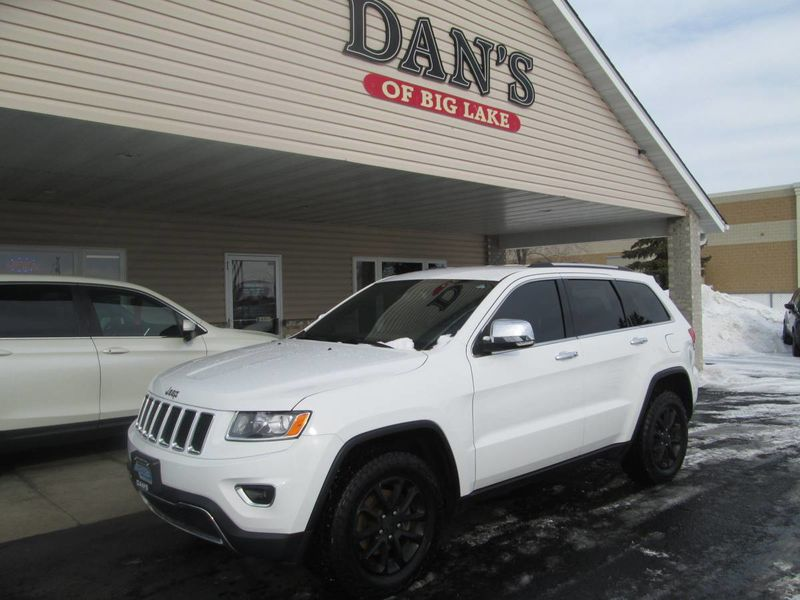 Used 2014 Jeep Grand Cherokee.  Conversion