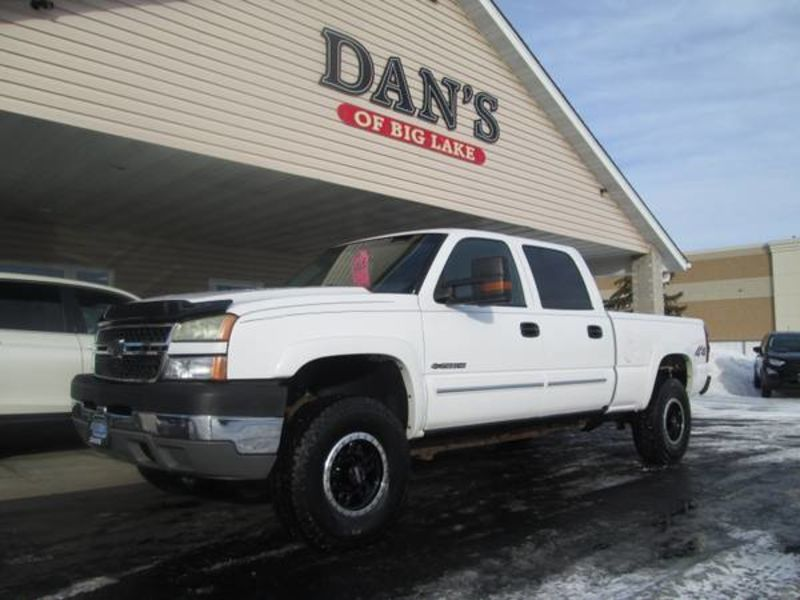 Used 2005 Chevrolet Silverado 2500HD.  Conversion