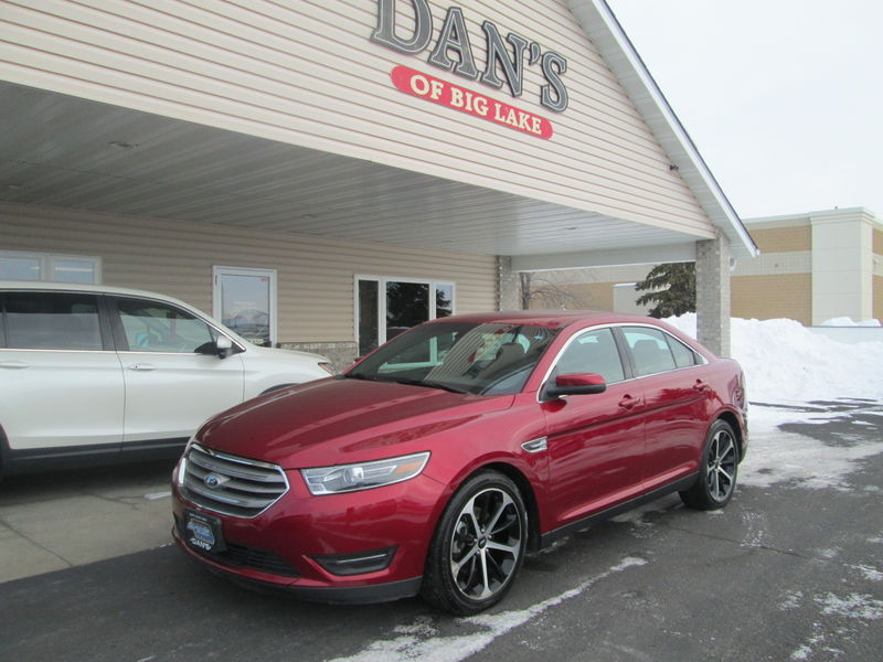 Used 2016 Ford Taurus.  Conversion
