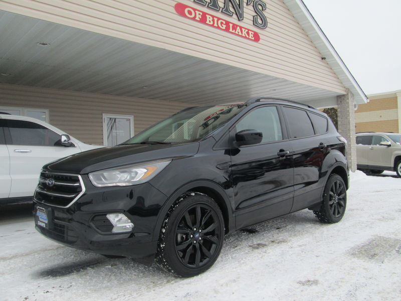 Used 2017 Ford Escape.  Conversion