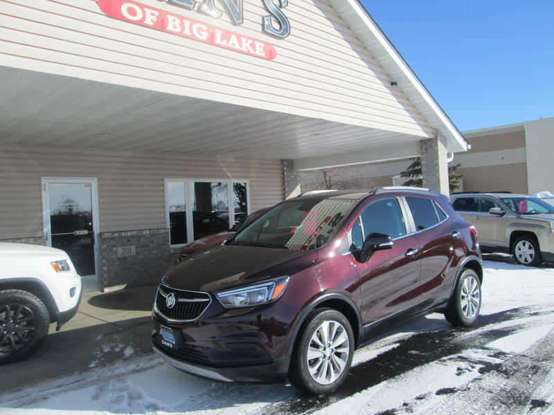 Used 2017 Buick Encore.  Conversion