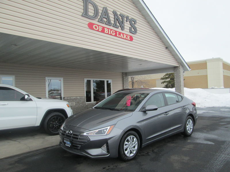 Used 2019 Hyundai Elantra.  Conversion
