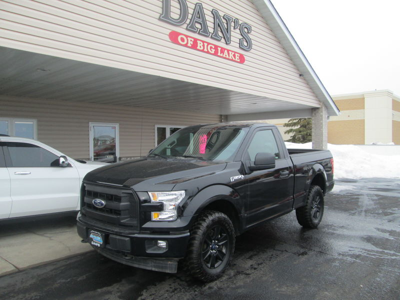 Used 2017 Ford F-150.  Conversion