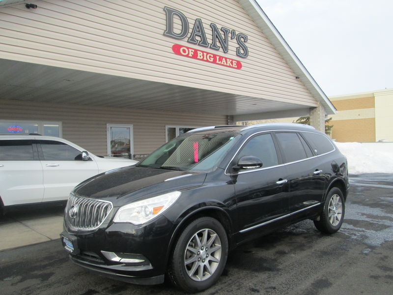 Used 2014 Buick Enclave.  Conversion