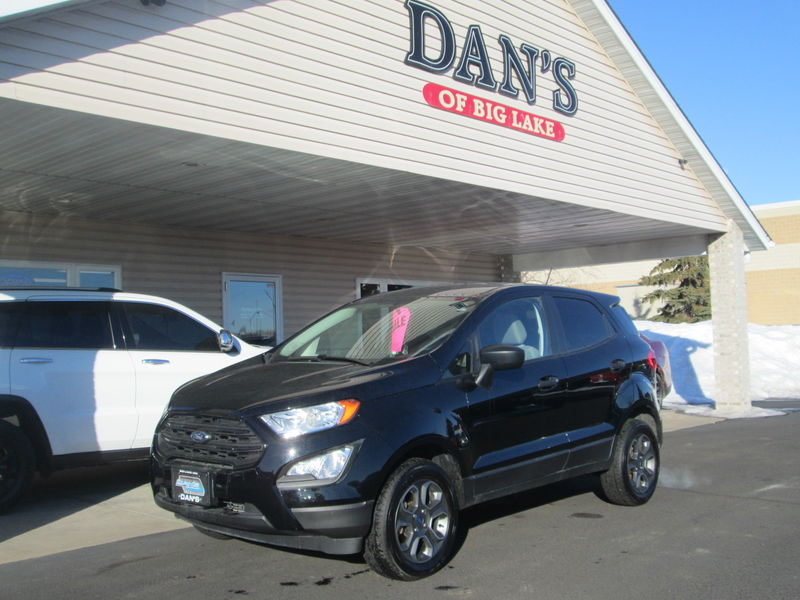 Used 2019 Ford EcoSport.  Conversion