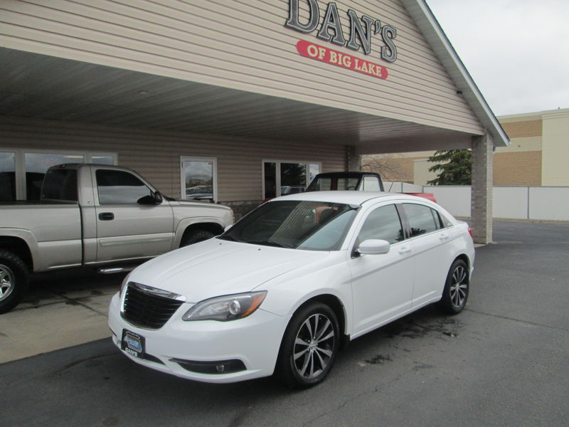 Used 2014 Chrysler 200.  Conversion